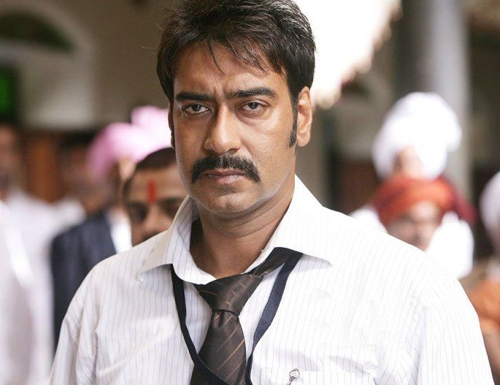 Ajay Devgn with Upper Lip Growth